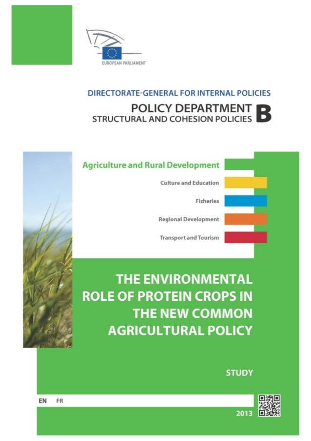The role of protein crops in the european community for Usda rural development louisiana