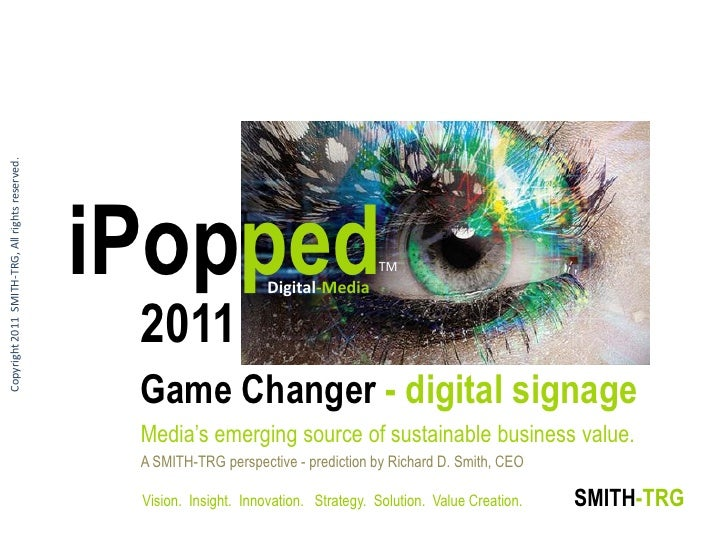 Copyright 2011 SMITH-TRG, All rights reserved.                                                 iPopped               Digit...