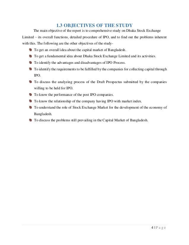 Ipo procedure in bangladesh