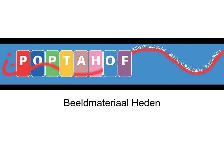 Beeldmateriaal Heden