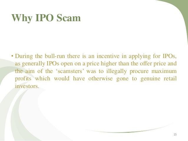 Ipo fraud using nominee