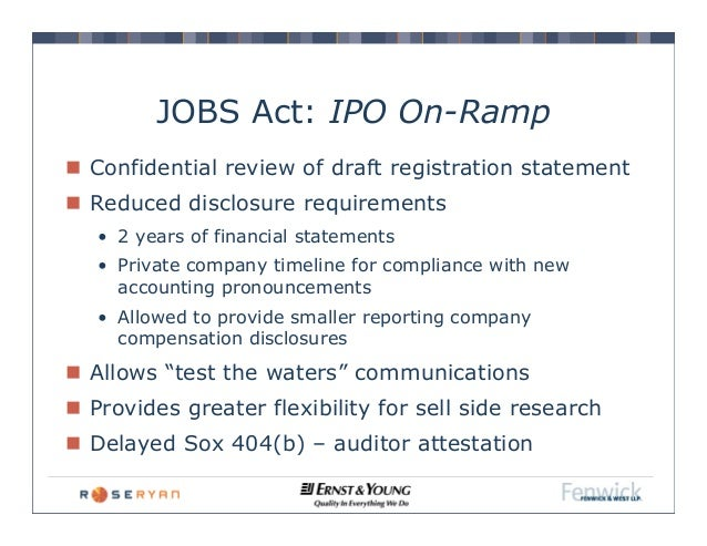 Ipo quiet period jobs act