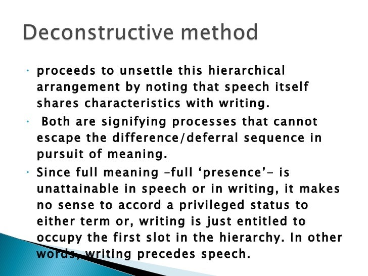 characteristic place structuralism