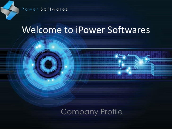 Welcome to iPower Softwares        Company Profile