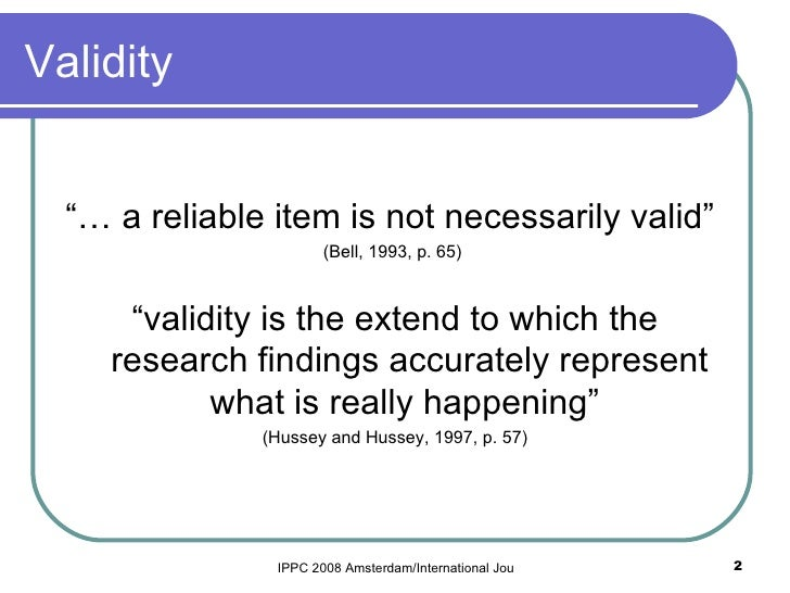 improving validity of market research Am j health syst pharm 2008 dec 165(23):2276-84 doi: 102146/ajhp070364  validity and reliability of measurement instruments used in research kimberlin.