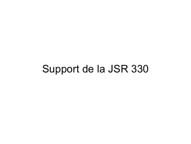 Support de la JSR 330