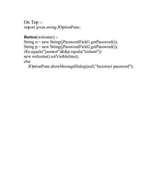 Getpassword