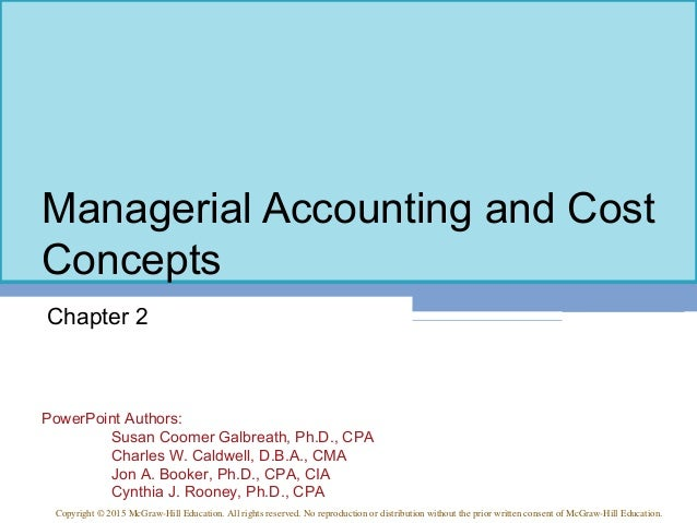 Management accounting 2 - Research paper Sample