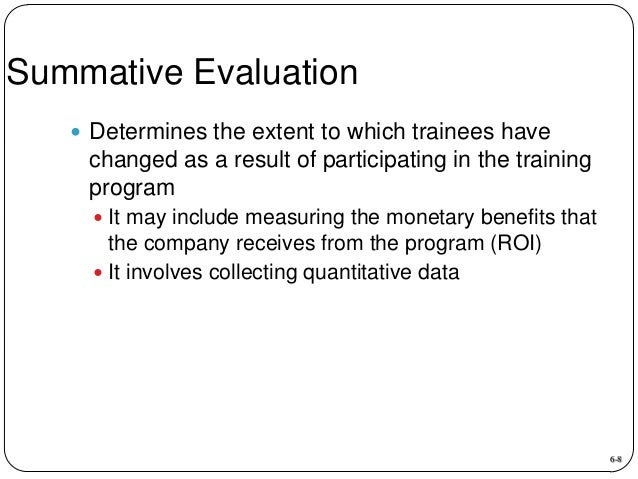 what metrics might be useful for evaluating the effectiveness of a company s training program roi Tag: what metrics might be useful for evaluating the effectiveness of a company's training program roi bus 375 week 3 dq 1 the learning organization and dq 2 evaluation metrics.