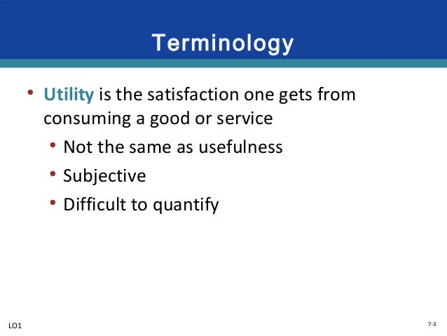 utility maximization We provide homework assignment help for topic williamsons utility maximisation contact us for expert homework help.