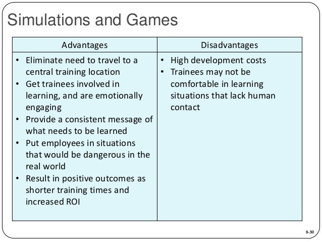 Advantages & Disadvantages of Simulation Games