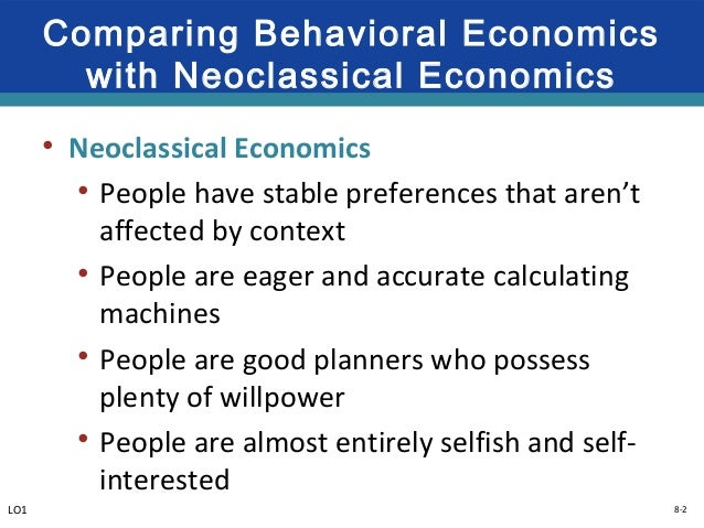 behavior economics Behavioral economics is an area of economics that adds psychology elements to traditional models to better understand how and why we spend money.