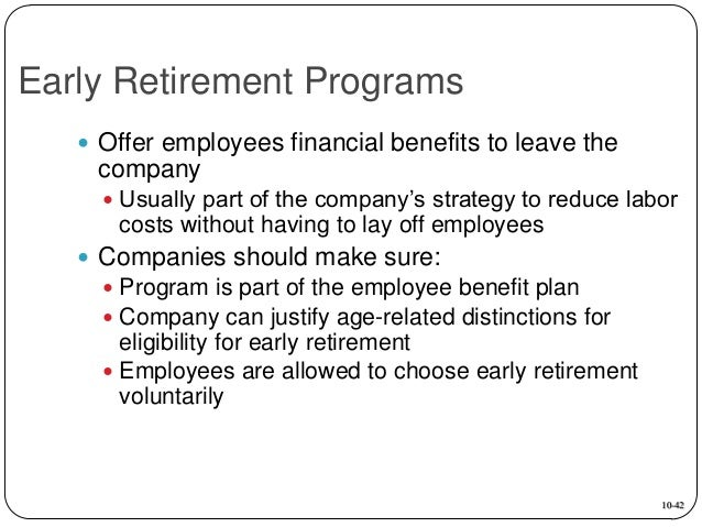 ... Retirement Programs Do Not Unfairly Discriminate Against Older  Employees 10 41; 42.