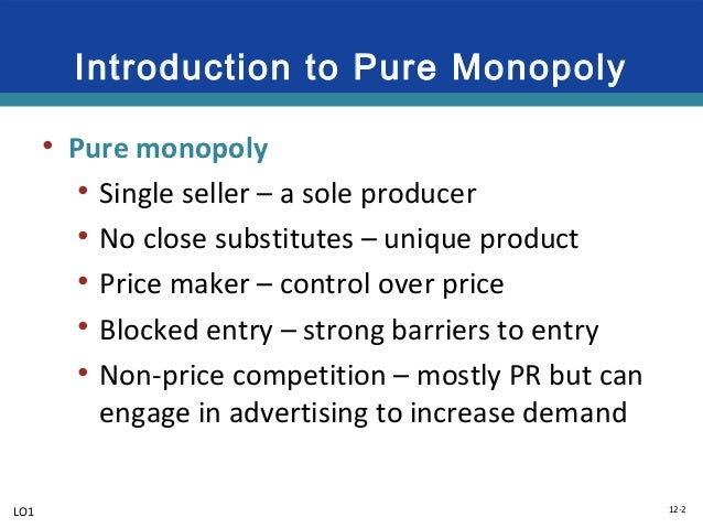 is microsoft an example of a pure monopoly Learn what a monopoly is and how it compares to an oligopoly, monopolistic competition, and perfect competition what you need to know about monopolies and monopoly power search the site go.
