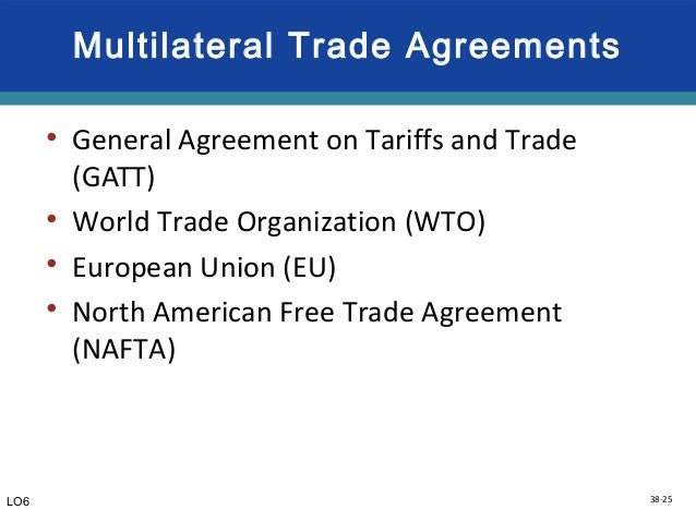 Difference Between WTO and NAFTA