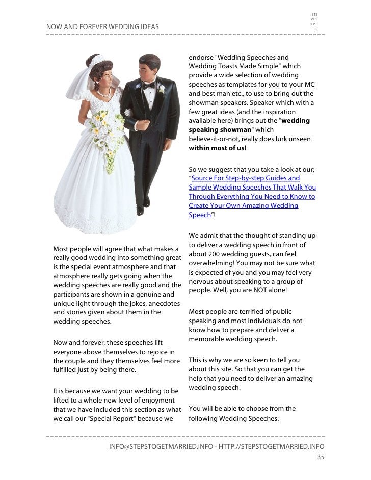 """""""Now and Forever Wedding"""" Planning Ideas"""