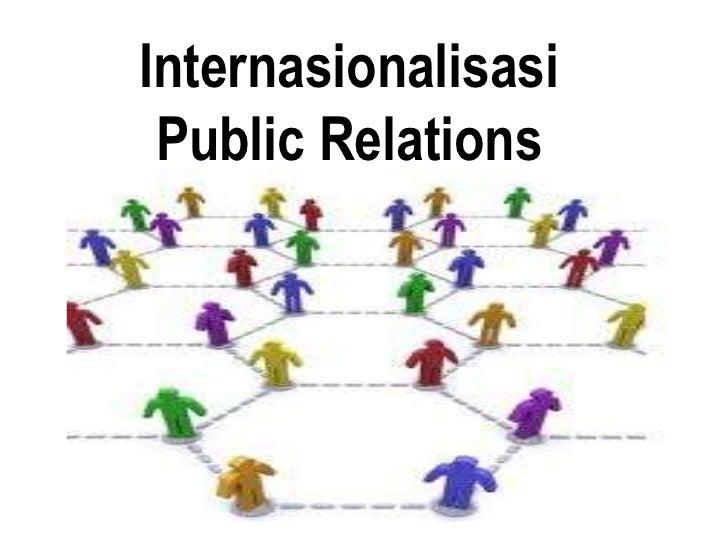 Internasionalisasi Public Relations