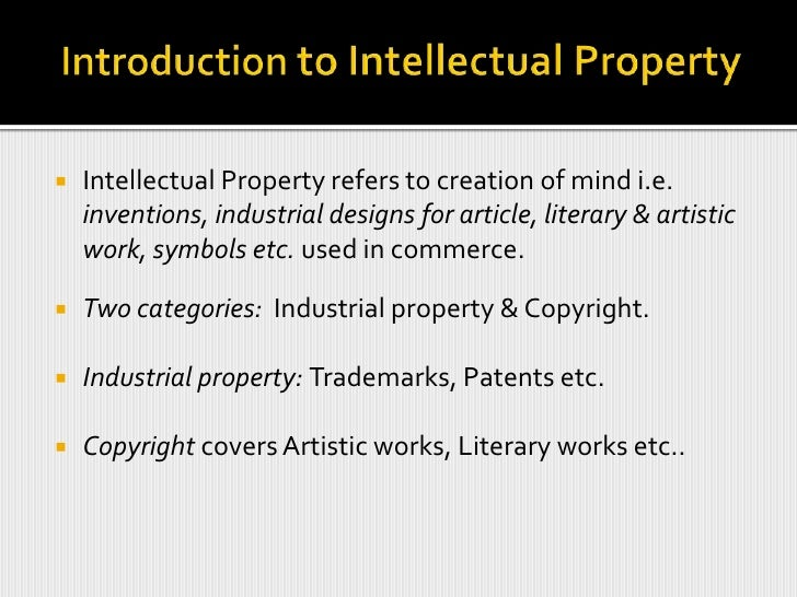 Intellectual Property Rights Slide 3