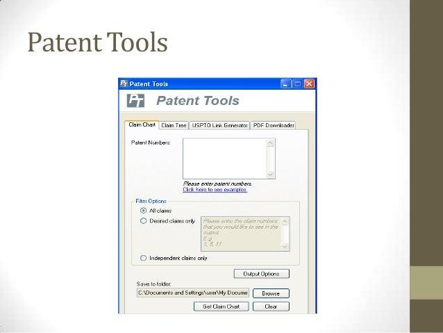 Patent Tools
