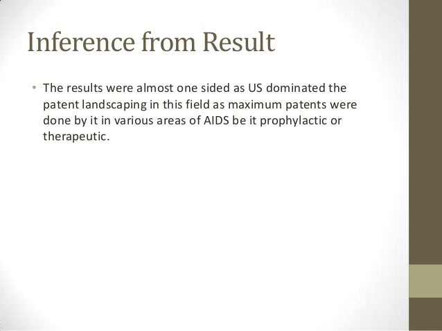 Results Time-wise• Also most patents were granted recently. Thus it's an eye-  opener for other countries to research and ...