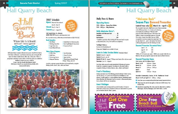 Itasca                                Park District              SUMMER                             & Events            P ...