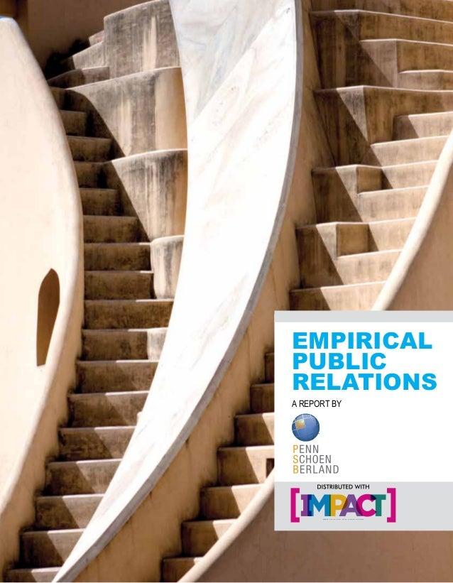 EMPIRICALPUBLICRELATIONSA REPORT BYWEEKLY ADVERTISING, MEDIA & MARKETING NEWS