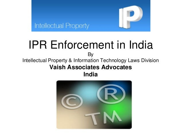 Intellectual Property Courses In India