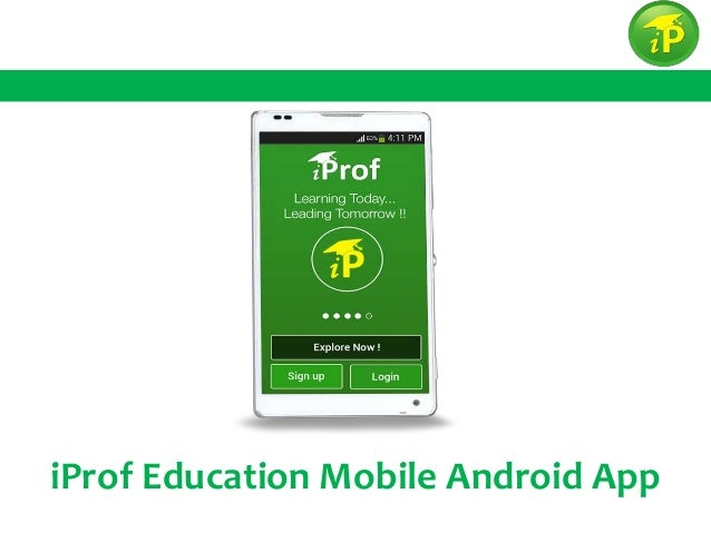 iProf Education Mobile Android App