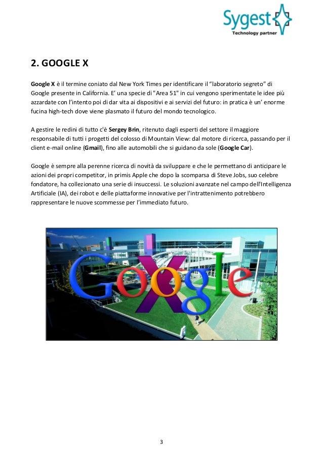 I progetti avveniristici di google e uno sguardo sul futuro for Area 51 progetti