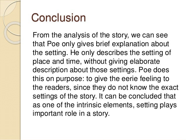 an analysis of a tell tale heart by edgar allan poe A college prof explains the story and offers an interpretation of its message to cite this video: balcarcel, rebecca understanding 'the.