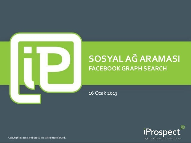 SOSYAL AĞ ARAMASI                                                         FACEBOOK GRAPH SEARCH                           ...