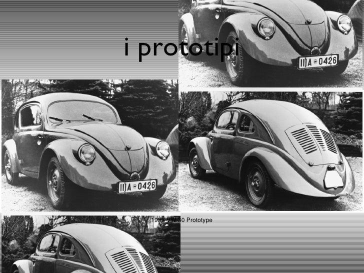 i prototipi 1937 VW 30 Prototype