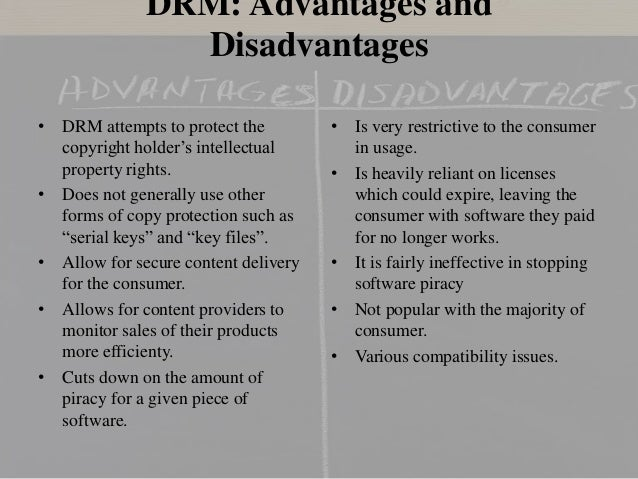 advantages and disadvantages of intellectual property