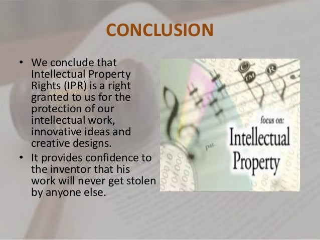 Intellectual Property Rights Case Study India