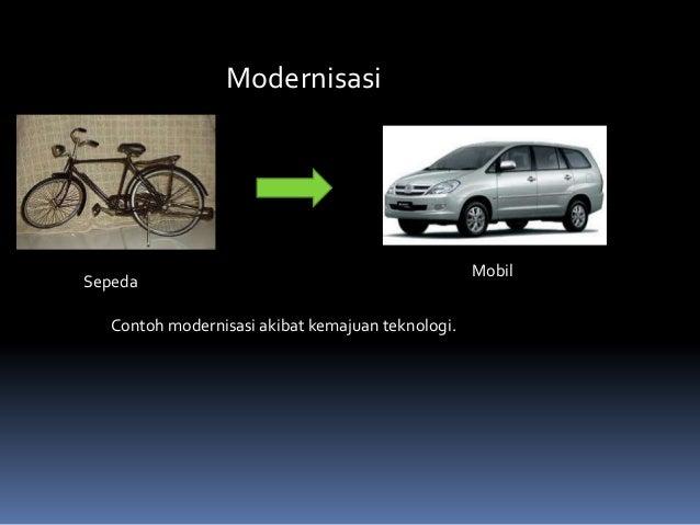 Contoh Kliping Dampak Modernisasi