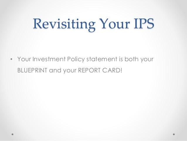 Investment Policy Statement - Milwaukee Bogleheads
