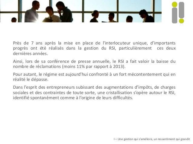 Près de 7 ans après la mise en place de l'interlocuteur unique, d'importants progrès ont été réalisés dans la gestion du R...