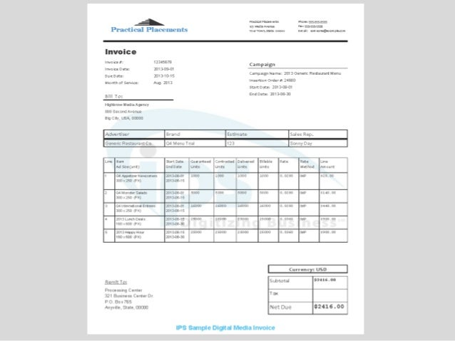 ips digital invoice iab 12 5 ve