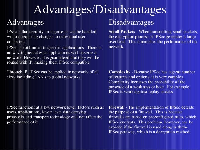 advantages and disadvantages of network protocols Advantages and disadvantages of routers advantages of routers: routers can connect different network architectures.