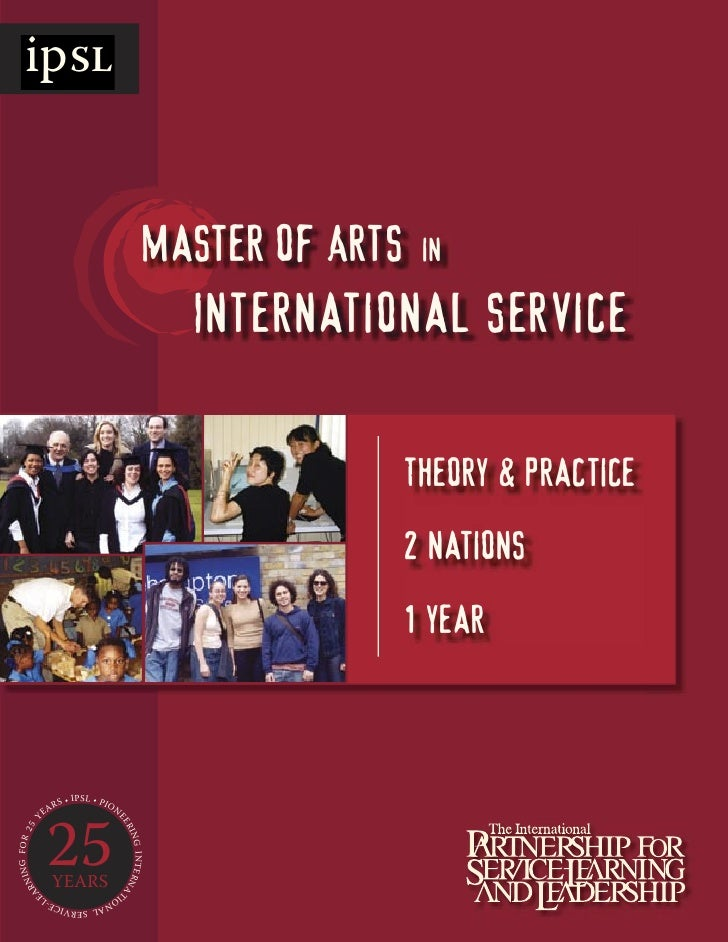 ipSL                                                             Master of Arts    in                                     ...