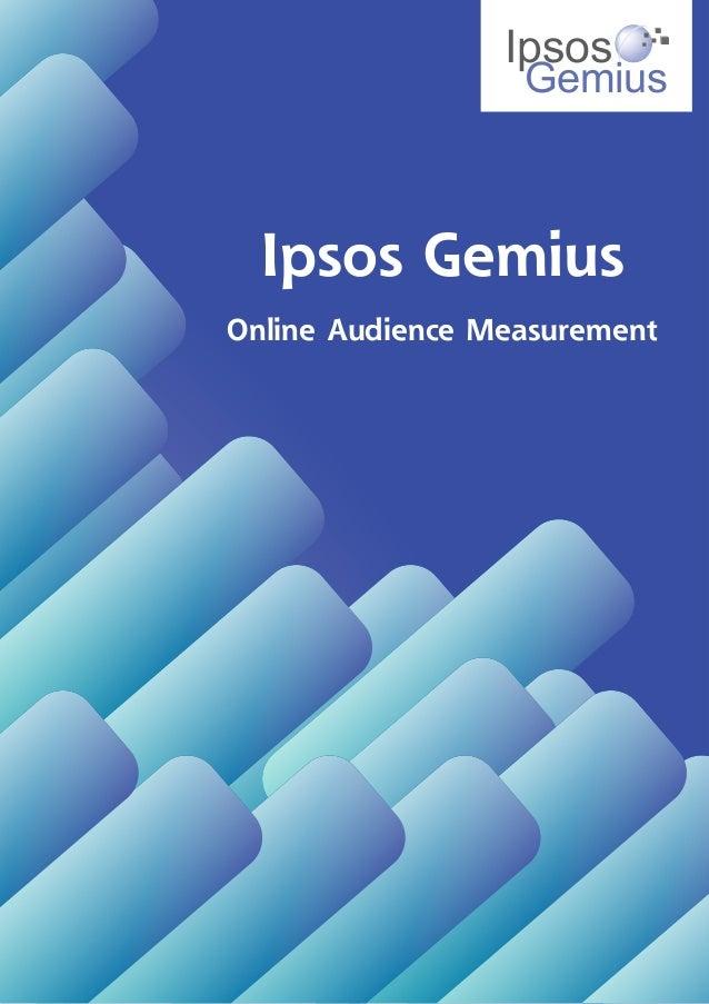Ipsos Gemius Study Brochure