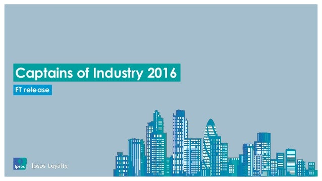 . FT release Captains of Industry 2016