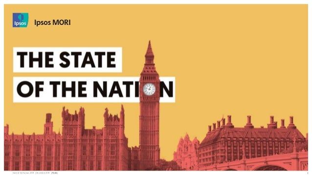State of the Nation: 2018 | December 2018 | Public © 2016 Ipsos. All rights reserved. Contains Ipsos' Confidential and Pro...