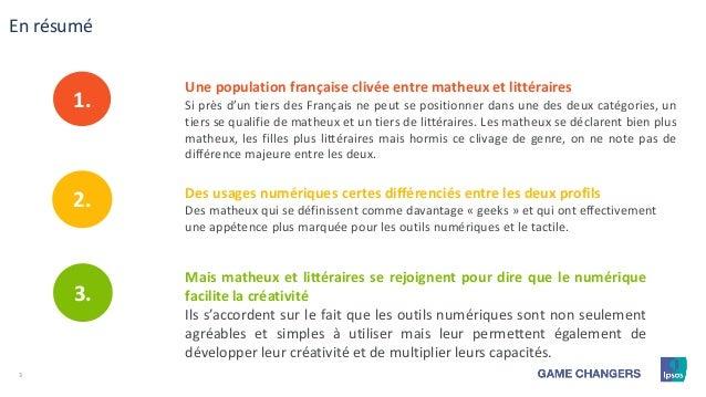 Matheux Ou Litteraires 80 Des Francais Plebiscitent Le Numerique Sy
