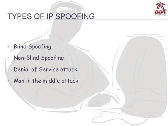 types of ip spoofing