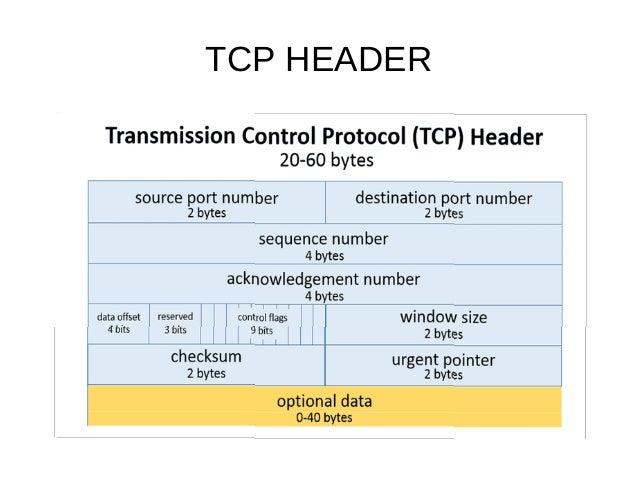 TCP/IP FRAME FORMAT