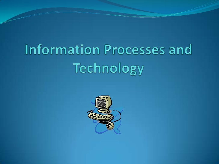 Why Study an IT course? Suitable for students who have an interest in computers  and technology in general Any student c...