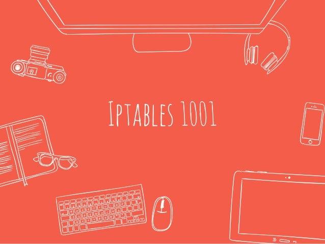 Iptables1001