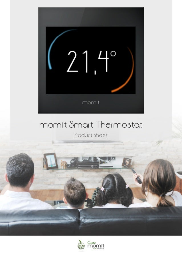 momit Smart Thermostat Product sheet