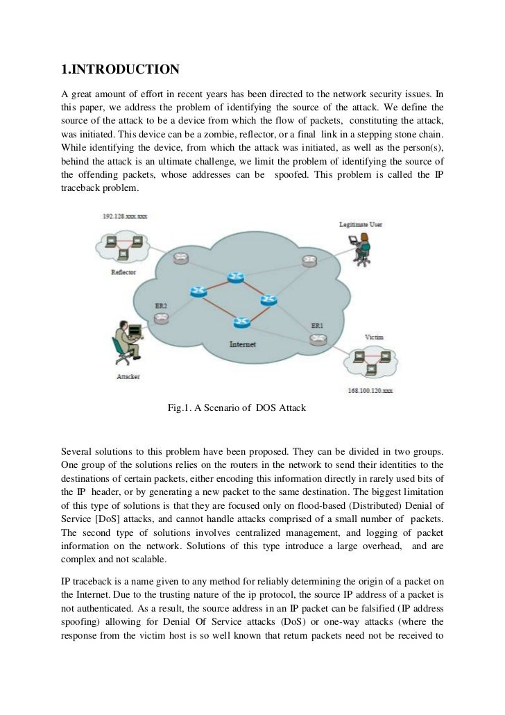 1.INTRODUCTIONA great amount of effort in recent years has been directed to the network security issues. Inthis paper, we ...